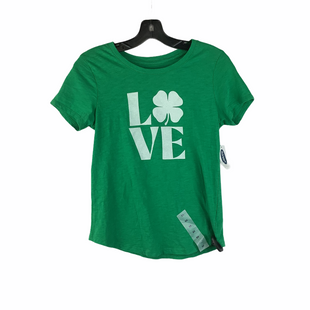 Primary Photo - BRAND: OLD NAVY STYLE: TOP SHORT SLEEVE BASIC COLOR: GREEN SIZE: XS SKU: 160-16071-78558