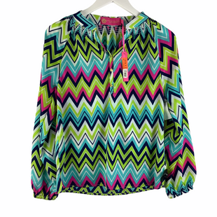 Primary Photo - BRAND:   CMC STYLE: TOP LONG SLEEVE COLOR: BLUE GREEN SIZE: XS OTHER INFO: MARGARET JOSEPHS - SKU: 160-16071-78378