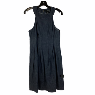 Primary Photo - BRAND: CALVIN KLEIN STYLE: DRESS SHORT SLEEVELESS COLOR: DENIM SIZE: S SKU: 160-160201-948
