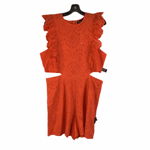 Primary Photo - BRAND: NEW YORK AND CO O STYLE: SKIRT SUIT 2PC COLOR: ORANGE SIZE: L SKU: 160-160197-19226