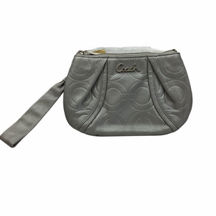 Primary Photo - BRAND: COACH STYLE: WRISTLET COLOR: GREY SKU: 160-160180-22376