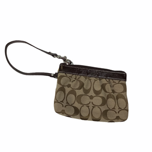 Primary Photo - BRAND: COACH STYLE: WRISTLET COLOR: TAN SKU: 160-160228-3586