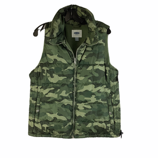 Primary Photo - BRAND: OLD NAVY O STYLE: VEST DOWN COLOR: CAMOFLAUGE SIZE: L SKU: 160-160197-17534