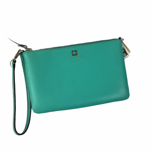 Primary Photo - BRAND: KATE SPADE STYLE: WRISTLET COLOR: MINT AS IS - LOGO IS WORN SKU: 160-160228-4175