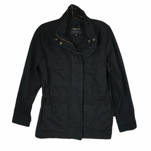 Primary Photo - BRAND: MADEWELL STYLE: JACKET OUTDOOR COLOR: BLACK SIZE: XS SKU: 160-160216-3274