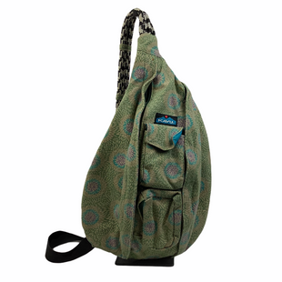 Primary Photo - BRAND: KAVU STYLE: BACKPACK COLOR: GEOMETRIC SIZE: MEDIUM OTHER INFO: AS IS(WEAR/SPOTTING) SKU: 160-160197-10393