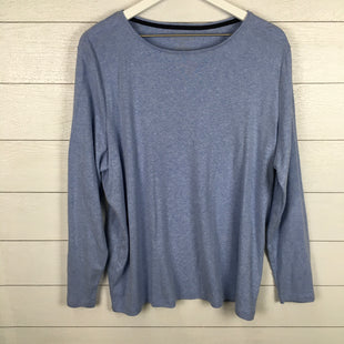 Primary Photo - BRAND: TALBOTS STYLE: TOP LONG SLEEVE COLOR: BLUE SIZE: 2X SKU: 160-160124-18150