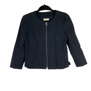 Primary Photo - BRAND: ANN TAYLOR LOFT O STYLE: BLAZER JACKET COLOR: NAVY SIZE: XS SKU: 160-16071-72612
