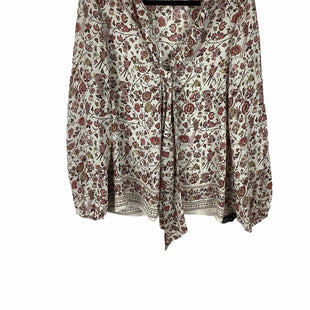 Primary Photo - BRAND: MAX STUDIO STYLE: TOP LONG SLEEVE COLOR: FLORAL SIZE: L SKU: 160-160216-28