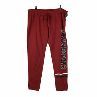 Primary Photo - BRAND:    CLOTHES MENTOR STYLE: ATHLETIC PANTS COLOR: RED SIZE: L OTHER INFO: SIDELINE APPAREL - SKU: 160-160239-507