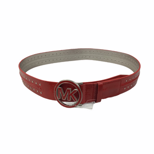 Primary Photo - BRAND: MICHAEL KORS STYLE: BELT COLOR: RED OTHER INFO: AS IS SKU: 160-160219-2349