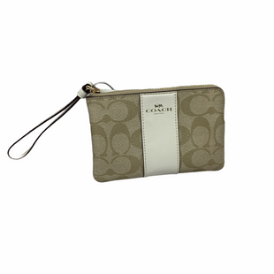 Primary Photo - BRAND: COACH STYLE: WRISTLET COLOR: CREAM SKU: 160-16071-72874