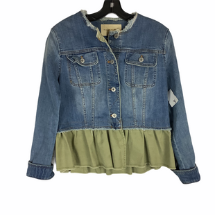 Primary Photo - BRAND: PILCRO STYLE: JACKET OUTDOOR COLOR: DENIM SIZE: S SKU: 160-160237-683