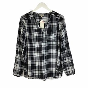 Primary Photo - BRAND: PLEIONE STYLE: TOP LONG SLEEVE COLOR: BLACK WHITE SIZE: S SKU: 160-16071-78404