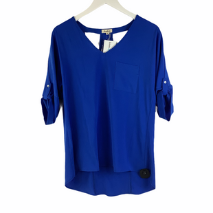 Primary Photo - BRAND: LOVERICHE STYLE: TOP LONG SLEEVE COLOR: BLUE SIZE: S SKU: 160-16071-78399