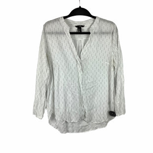 Primary Photo - BRAND: H&M STYLE: TOP LONG SLEEVE COLOR: WHITE SIZE: 12 SKU: 160-160201-3135