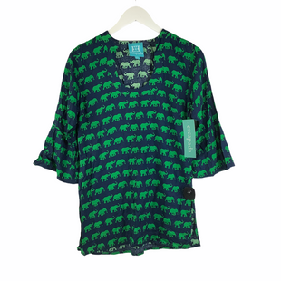 Primary Photo - BRAND: ESCAPADA LIVING STYLE: TOP LONG SLEEVE COLOR: BLUE GREEN SIZE: XS SKU: 160-16071-78406