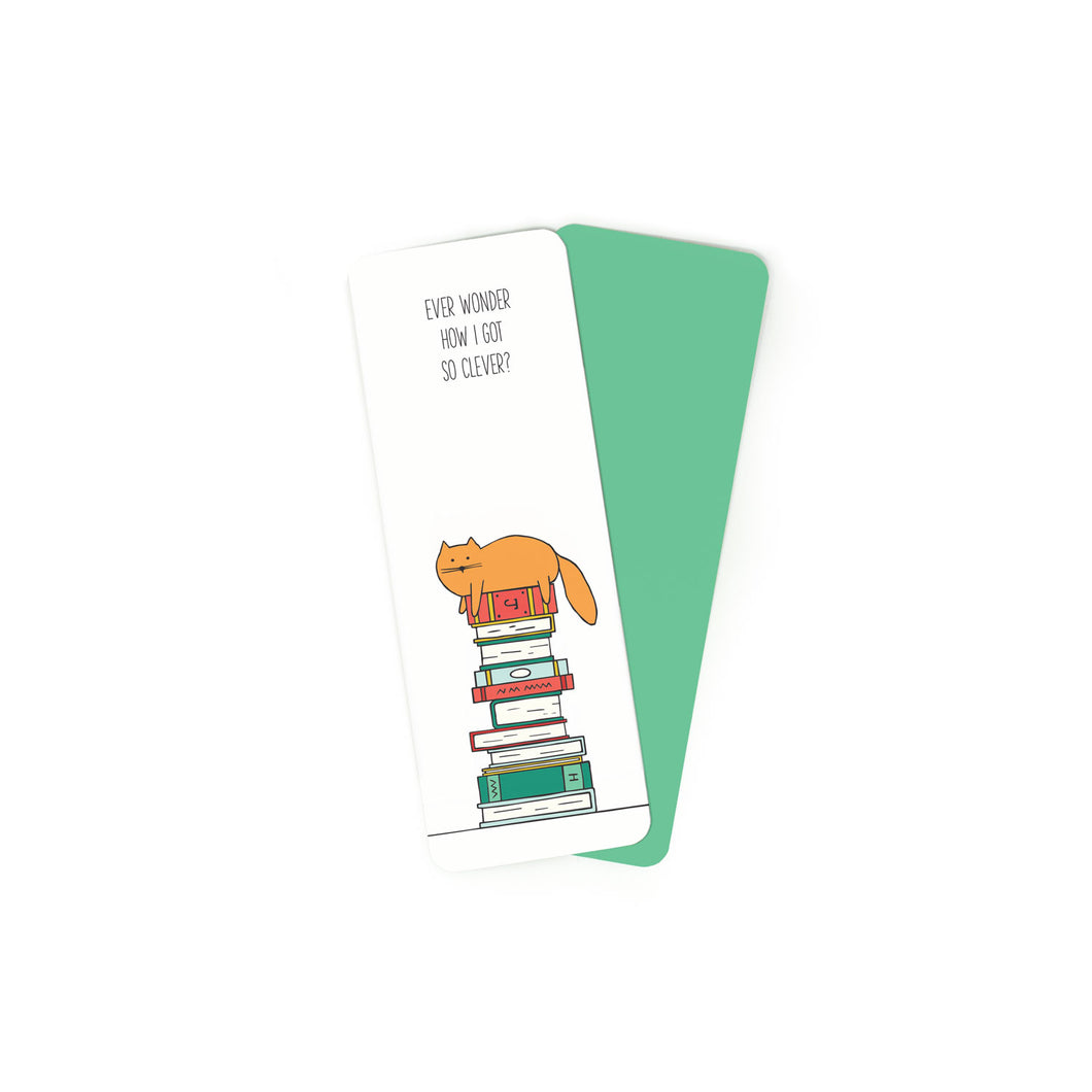 Clever Cat - Bookmark