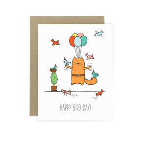 Happy Bird-Day - Birthday Card