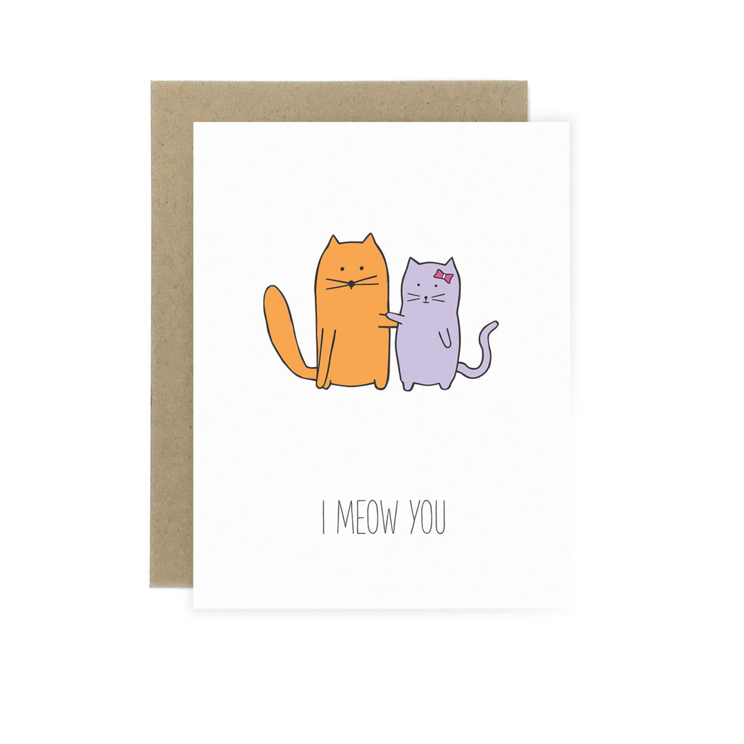 I Meow You - Love Card
