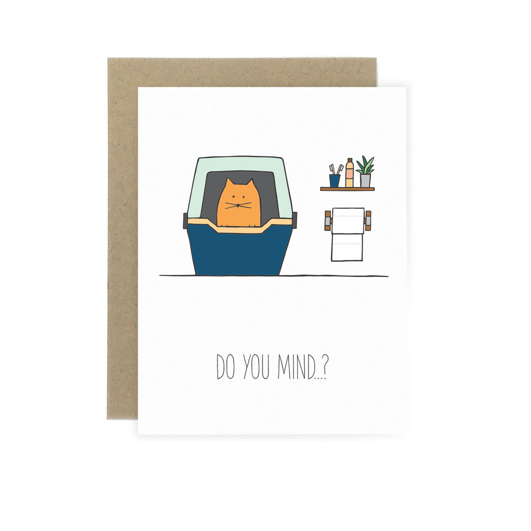 Do You Mind - Funny Card