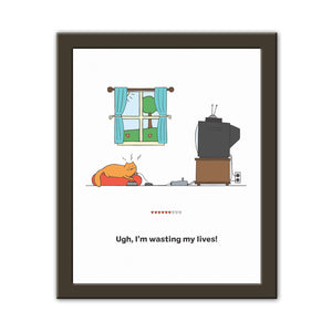 Wasting Lives - Art Print