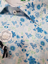 Load image into Gallery viewer, Carlos Cordoba - Green and Blue Floral Shirt - Tector Menswear