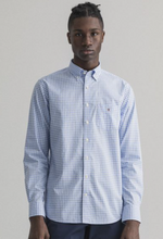 Load image into Gallery viewer, GANT - Broadcloth Gingham Reg, Capri Blue