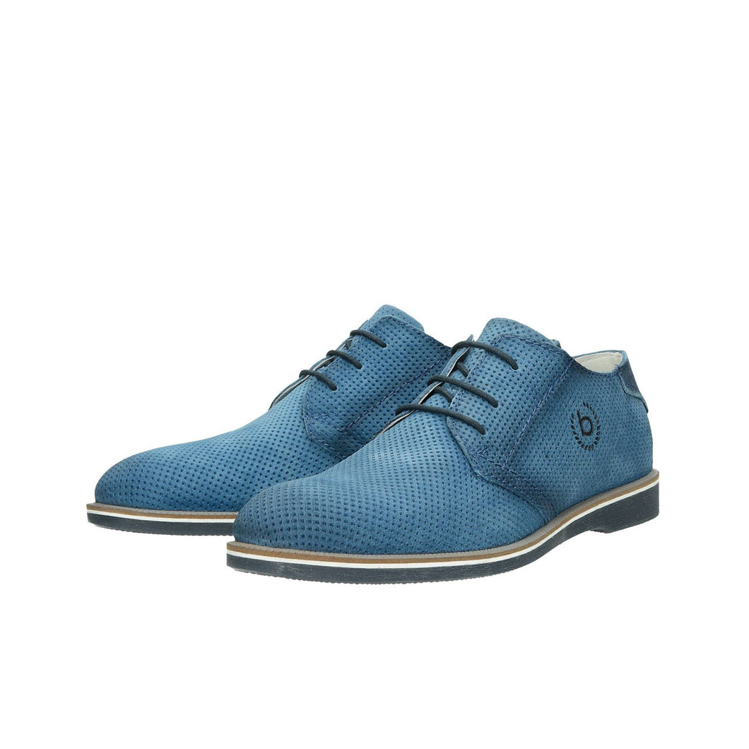 Bugatti - Lace Up Shoes in Blue - Tector Menswear
