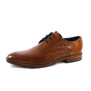 Bugatti - Tan Leather Shoe - Tector Menswear