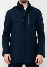 Load image into Gallery viewer, Bugatti - Rainseries Navy Waterproof Coat - Tector Menswear