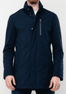 Bugatti - Rainseries Navy Waterproof Coat - Tector Menswear