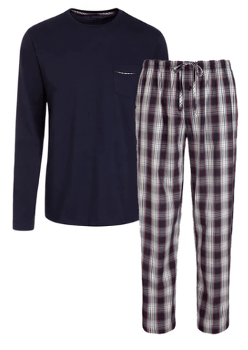 Jockey - Pyjama Set, Navy 2 Piece - Tector Menswear