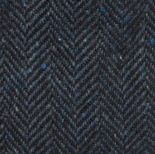 Load image into Gallery viewer, Magee - Blue Herringbone Tweed Cap