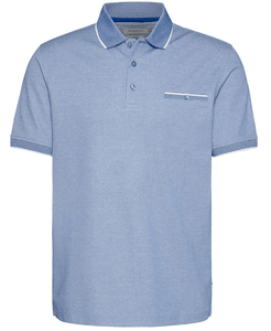 Bugatti - Blue Non Iron Blue Polo - Tector Menswear