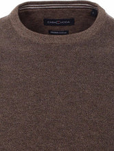 Load image into Gallery viewer, Casa Moda - Cotton Crew Neck, Brown (L & XXL Only)