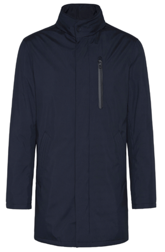 Bugatti - Rainseries Dark Navy Parka Coat - Tector Menswear