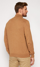 Load image into Gallery viewer, Bugatti - Taupe Turtle Neck, Cotton/Cashmere