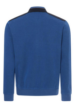 Load image into Gallery viewer, Bugatti - Half Zip Sweatshirt In Blue