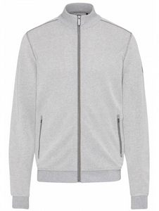 Bugatti - Full Zip Sweat Jacket, Cream