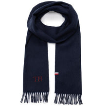 Load image into Gallery viewer, Tommy Hilfiger - Navy Wool Scarf