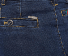 Load image into Gallery viewer, Meyer - Roma Denim Trouser, Blue 20 - Tector Menswear