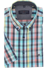 Load image into Gallery viewer, Casa Moda -  Multicolored, Short Sleeve Shirt (XL only) - Tector Menswear