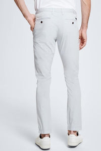 Strellson - Slim Fit Chinos Pastel Gray - Tector Menswear