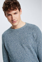 Load image into Gallery viewer, Strellson -  Lance Pullover, Pastel Blue Mottled - Tector Menswear