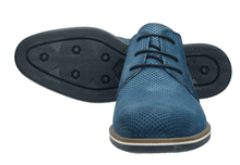 Load image into Gallery viewer, Bugatti - Lace Up Shoes in Blue - Tector Menswear