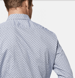 Bugatti - Casual Shirt - Retro pattern