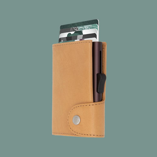 C-Secure - RFID Secure XL Wallet, Saddle - Tector Menswear