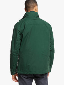 GANT - The Coastal Mid Length Jacket, Tartan Green (XL Only) - Tector Menswear