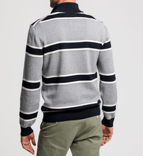Load image into Gallery viewer, GANT - Knitted Stripe Half Zip